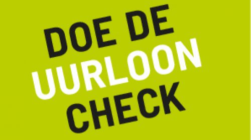 Doe de uurloon-check